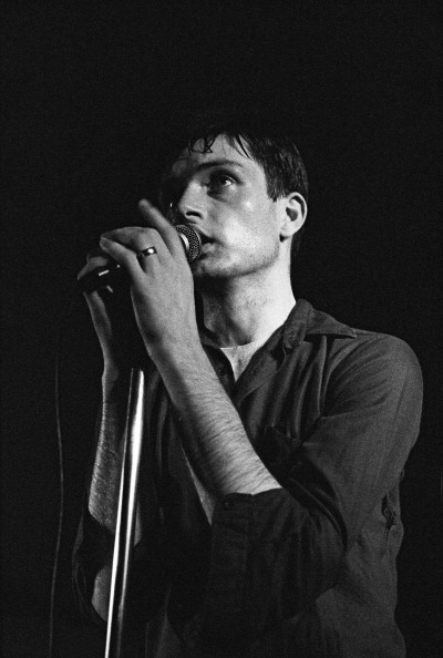 Ian Curtis At The Factory