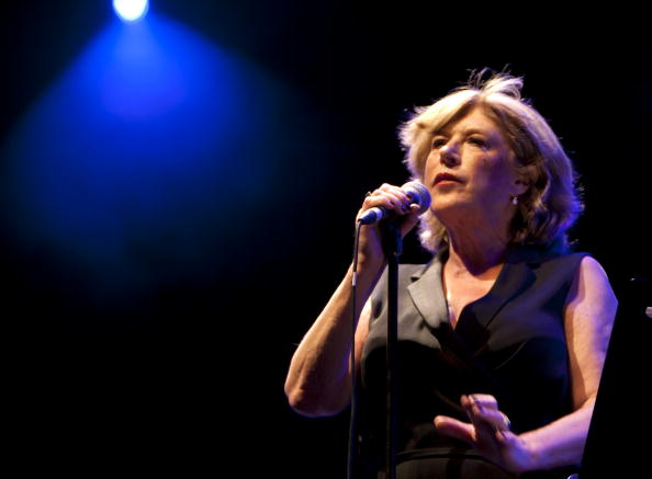 Marianne Faithfull Performs in Concert in Madrid