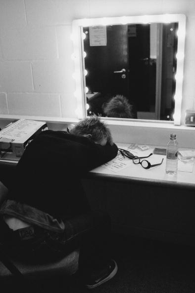 Radiohead Backstage