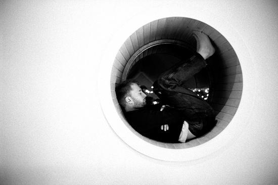 Thom Yorke Disappear circle