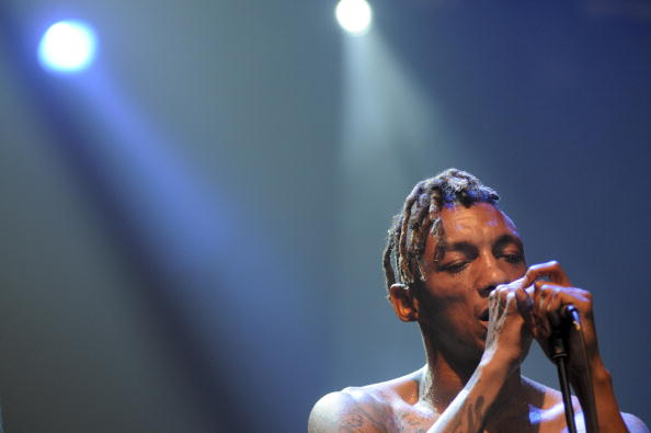 British singer Tricky performs during th