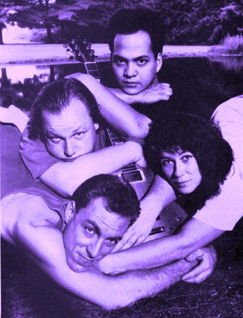 b w Pixies grab guitar