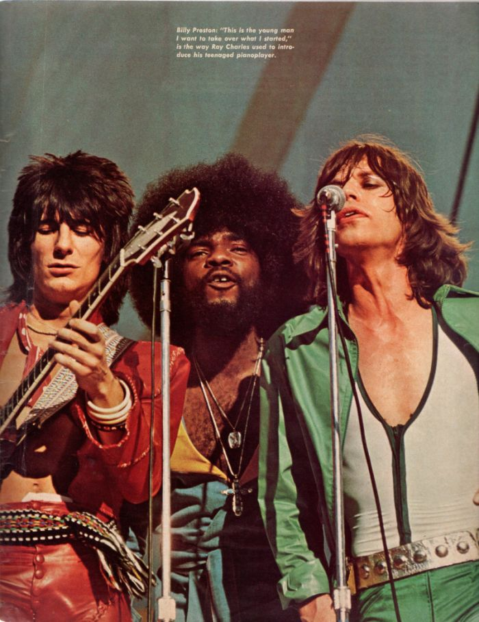 Billy Preston Ronnie & Mick color